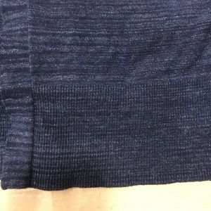 Old Navy Sweaters - Old Navy / Extra Long Blue Cardigan